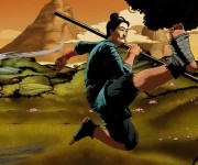 Launch Trailers for 9 Monkeys of Shaolin Created with Fusion Studio