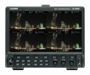 Leader to Introduce Latest LV5490 4K Multiscreen Waveform Monitor Enhancements at NAB 2017, Las Vegas