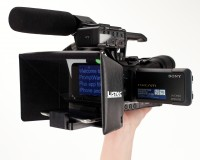 Listec Promptware Teleprompters Adds 58mm Support