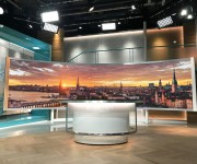 LITEPANELS GEMINI AND SOLA BRING EXCELLENT LIGHT QUALITY AND VERSATILITY TO TV4s AFTER FIVE LIVE TALK SHOW