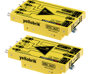LYNX Technik Launches yellobrik 8K Fiber Transmission Solution  at IBC 2019