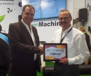 LYNX Technik Wins TVB Europe Best in Show Award at IBC2016 for greenMachine