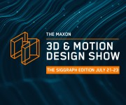 Maxon and rsquo;s 3D and Motion Design Show for Siggraph to Feature All-Star Lineup