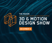 Maxon and rsquo;s Final 3D and amp; Motion Design Show of 2020 is Almost Here