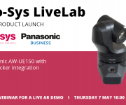 Mo-Sys Launch LiveLab With Panasonic