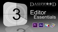 New Dashwood Editor Essentials Plugin Available for Adobe After Effects, Premiere Pro and Final Cut Pro