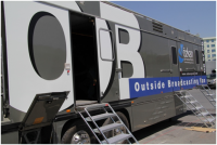 Ozkan Productions introduces Europes first OB van equipped with TRIMASTER EL and cent; OLED monitors
