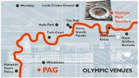 PAG Support for London 2012