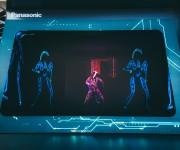 Painting with Light makes Senses for Panasonic at ISE