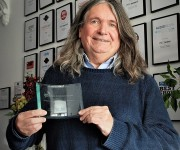 Peter Thomas Is Honoured By The Institute of Professional Sound