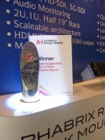 PHABRIX wins design award at IBC 2011