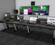 Plymouth Marjon University Chooses Custom Consoles Desks for New Broadcast Media Training Facility