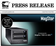 PRESS RELEASE: Take the Pain Out of Migration and ndash; MagStor Release LTO Migration Unit with Thunderbolt 3