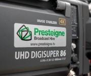 Presteigne Broadcast Hire invests more than and 2M GBP in 4K