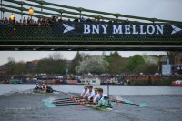 Presteigne Tames the Thames for Boat Race Coverage
