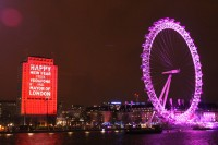Projection Studio Consults for Mayor of Londons New Years Eve Fireworks