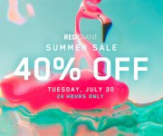 Red Giant Celebrates Summer with 40% Off