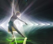 Rhizomatiks Research Uses URSA Mini 4K and UltraStudio 4K for Dance Installation phosphere