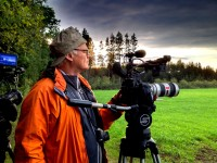 Rodney Charters pressed for time with the Sachtler Video 18