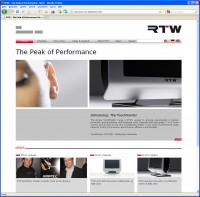 RTW LAUNCHES REDESIGNED COMPANY WEBSITE