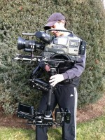 Sachtler artemis Keeps Keith Moving