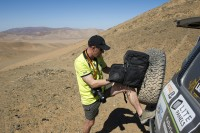Safety First: DakarPress Team Relies on Petrol Bags at the Dakar Rally 2012