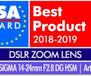 Sigma 14-24mm F2.8 Art Lens Wins Prestigious 2018-19 EISA Award
