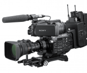 Sony enhances FS7 and FS7 II camcorders with ENG-style build-up kit and B4 lens to E-mount adapter and ndash; ready for news production