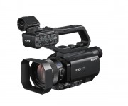 Sony launches entry-level HD palm-sized camcorder with Fast Hybrid Auto Focus for everyone who needs professional quality content acquisition