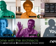 Stay and ldquo;At Home with the Architects and rdquo; for Nevion and rsquo;s Alternative Broadcasting Show