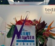 Tedial Version Factory Named IABM Game Changer Winner 2016