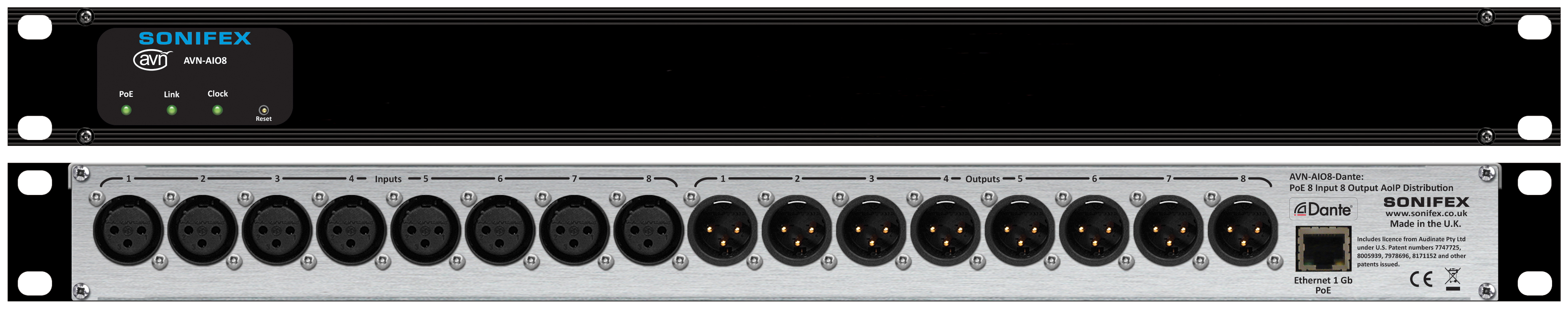 Sonifex Show Multi-Channel Dante Audio Interfaces at NAB 2019