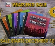 The Red Giant Year End Sale Returns Bigger and Better than Ever on December 10th