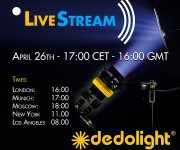 The world of reflected light: dedolight LiveStream event 26 April 2021