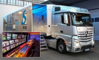 TV SKYLINES NEW-GENERATION OB VEHICLE USES CRYSTAL VISION INTERFACE