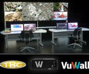 VuWall Partners With TBC Consoles to Offer Control Room Kit for Simplified Control Room Deployments