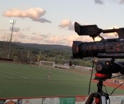 WMBS Radio Pivots with JVC GY-HC500SPC CONNECTED CAM for Video Sports Broadcasts