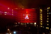 XL Events Supply Super Bright Projection  at the BBC