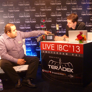 Day 1 of BroadcastShow at IBC