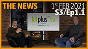 KitPlusTV summarise the Broadcast and Pro Video News 1st February 2021