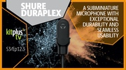 SHURE Duraplex DL4 Omnidirectional Waterproof Subminiature Microphone